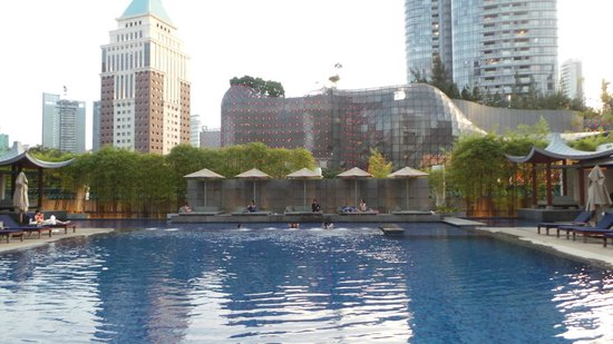 Singapore Marriott Tang Plaza Hotel: Hotel Pool