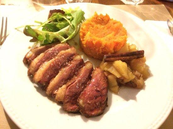 Restaurant Bouche en Folie : Magret de canard