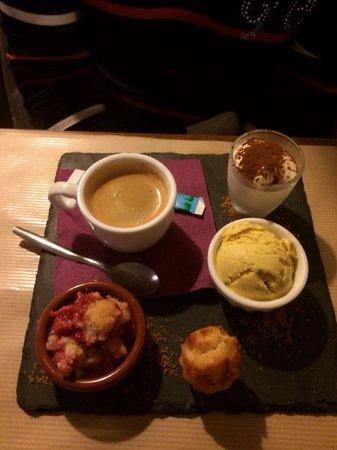 Restaurant Bouche en Folie: Café gourmand