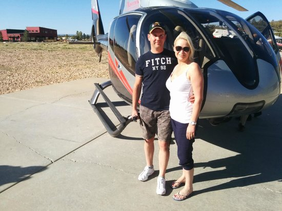 Maverick Helicopters : After the flight :-)