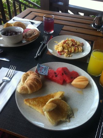 Fair House Villas & Spa : Breakfast