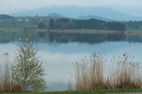 Landhaus Kossel : lago hopfensee