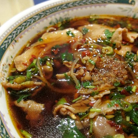 Spicy Garden: Spicy beef and pork noodle soup