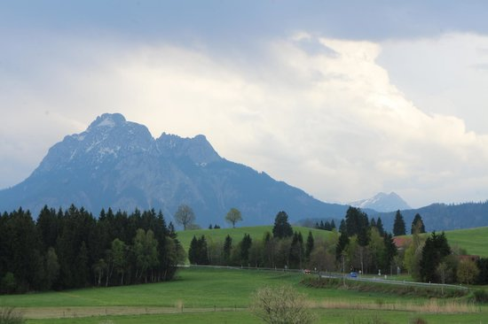 Landhaus Kossel : panorama dalla camera