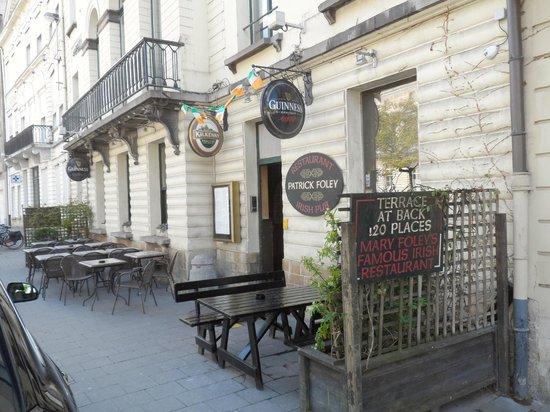 Patrick Foley's Irish Pub & Restaurant: Exterieur Foley's
