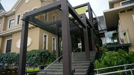 Hotel Grano de Oro San Jose: Entrance to the hotel