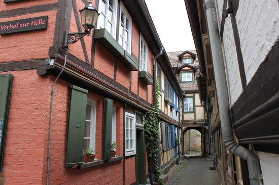 Altstadt Quedlinburg: Vorhof zur Hölle