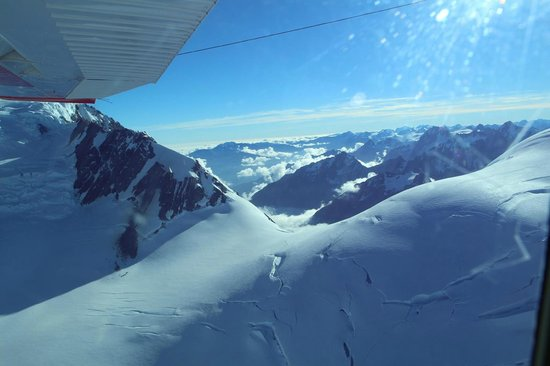 Mount Cook Ski Planes & Helicopters : What a perspective