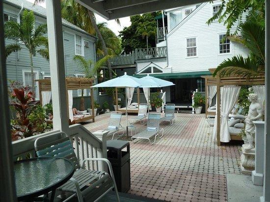 The Cabana Inn Key West : Courtyard