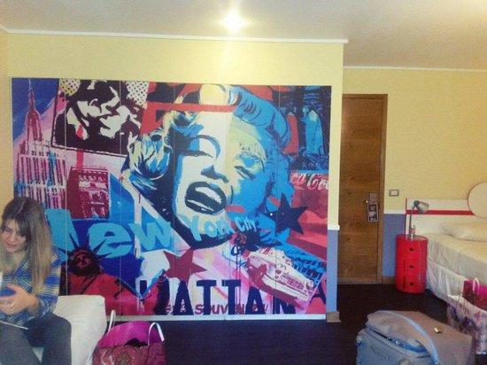 H Rado Hostel: Nuestra habitación para 3 personas