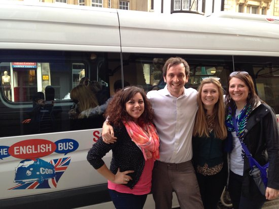 The English Bus: In Oxford with Andrew our tour guide