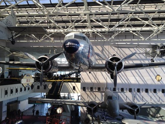 Museo Nacional del Aire y el Espacio: First Eastern Airlines aircraft