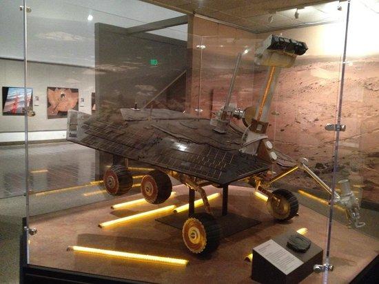 Museo Nacional del Aire y el Espacio: Rovers on Mars