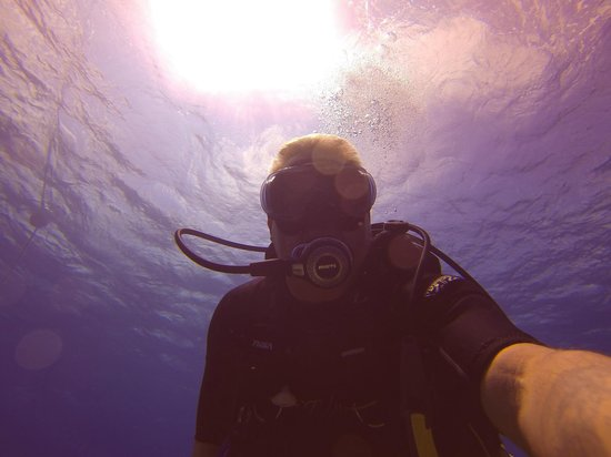Off the Wall Divers: Just me during the dive.