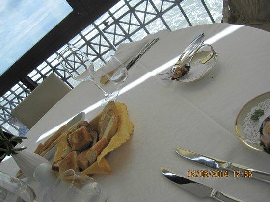 Restaurant La Prua: море