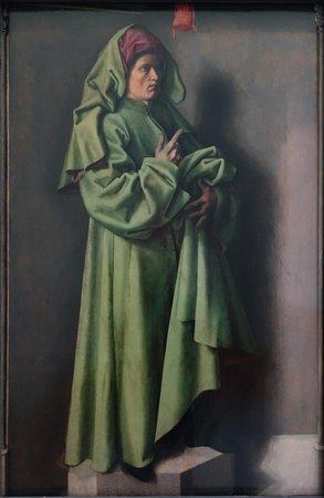 Museum Boijmans Van Beuningen: Barthélémy d'Eyck: Esiah in green Clothe