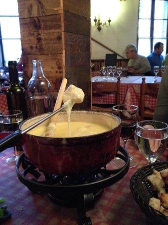 Chez Mamie Lise : fondue