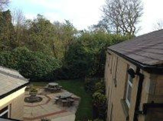 Astley Bank Hotel: View from the room