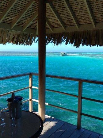InterContinental Moorea Resort & Spa: terrasse