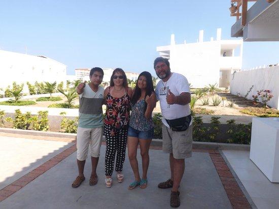 Suites del Mar: Con nuestros amigos chilenos