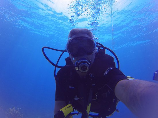 Blue Island DIvers : Just me on the dive.