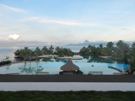 InterContinental Tahiti Resort & Spa : View from lobby