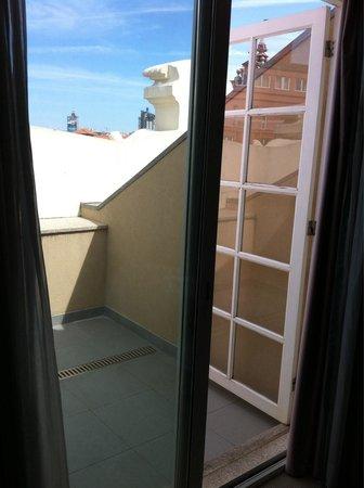 Moov Hotel Porto Centro : Our balcony from room 420