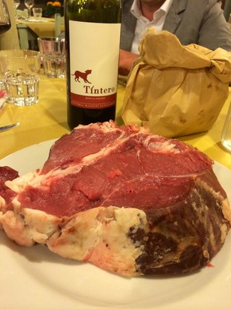 La Sosta di Pio VII: Grande e buona bistecca.