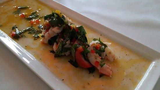 Mereday's Fine Dining: Shrimp Ceviche