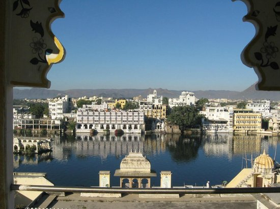 Mewar Haveli : View from restaurant