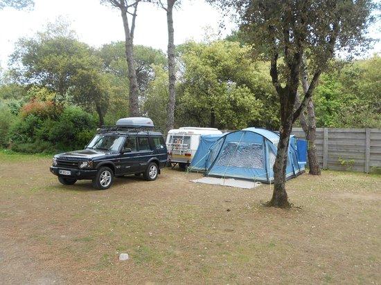La Grainetiere Camping : notre emplacement