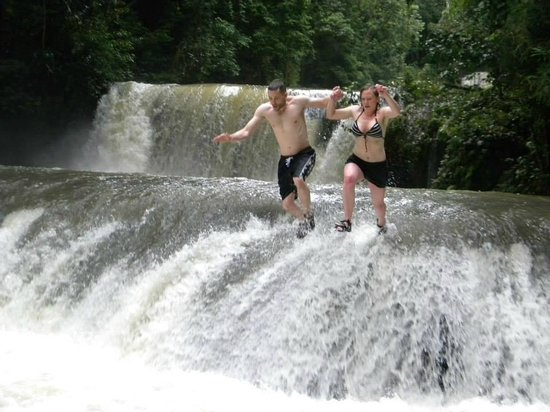 Perfect day in Jamaica at YS Falls