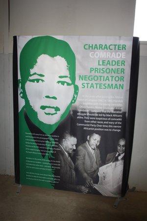 Nelson Mandela Capture Site : Museum display