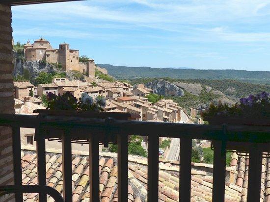 Villa de Alquezar: Vue de la terrasse