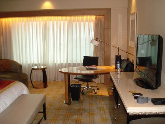 Zhongmao Haiyue Hotel : room with desk