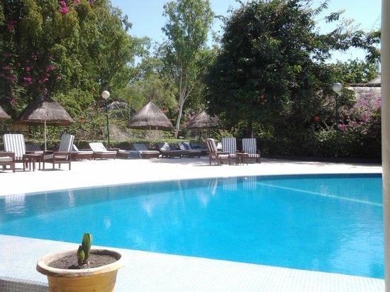 Hotel Keur Saloum : très jolie piscine