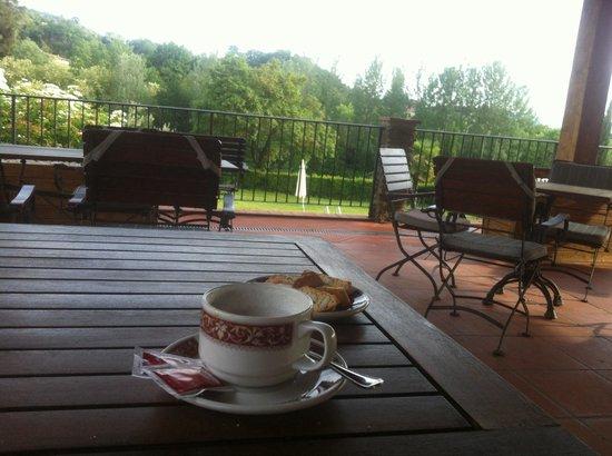 Villa Rigacci : Terrace