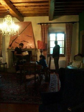 Villa Rigacci: Lounge