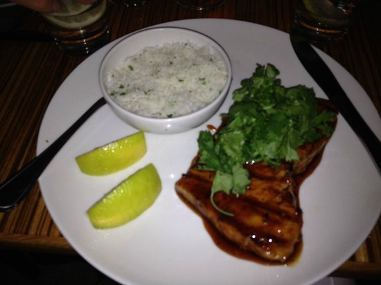 LB Seafood Bistro on the Bay: Linefish in Ginger Chili sauce