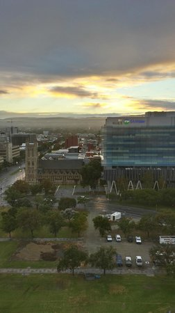 Hilton Adelaide: View from my room