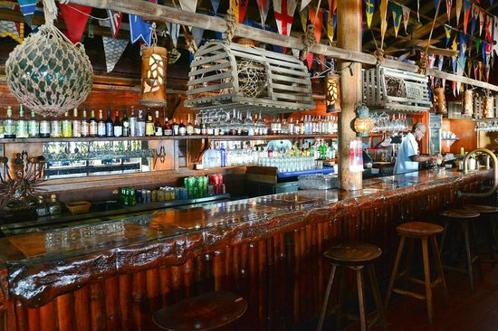 The Clubhouse Bar at Bitter End Yacht Club