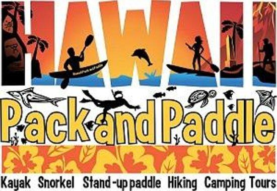 Hawaii Pack and Paddle Day Tours: Kayak, Snorkel, Paddle board, Hike. Rentals or Tours Big Island Hawaii Kona