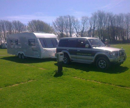 Stowford Farm Meadows : our rig
