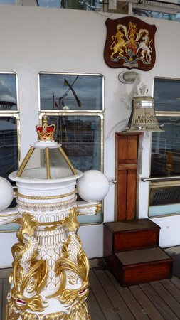 Yate Real Britannia: The Ships Bell on the Quarter Deck