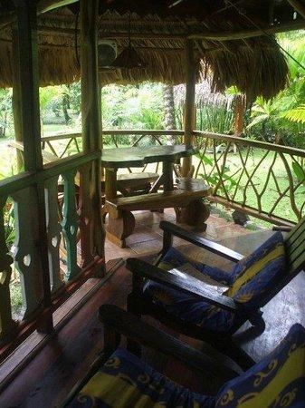 Hotel La Costa de Papito: Porch