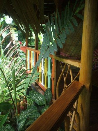 Hotel La Costa de Papito : Porch