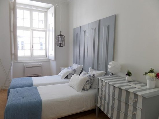 Madalena Hermitage : la première chambre et ses 2 lits