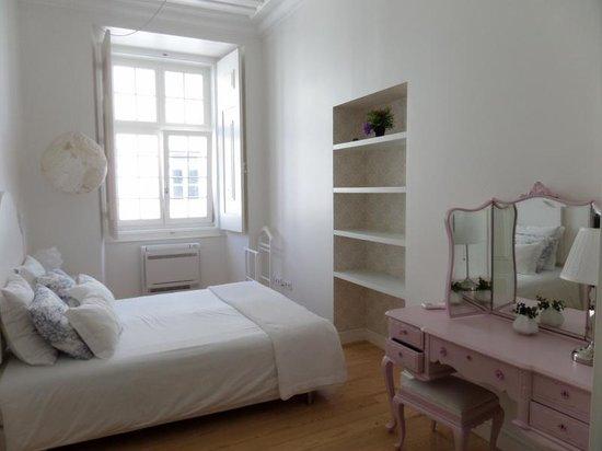 Madalena Hermitage : la deuxième chambre avec lit double