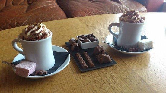 Oban Chocolate Company: The most indulgent hot chocolate and a milk chocolate tasting slate