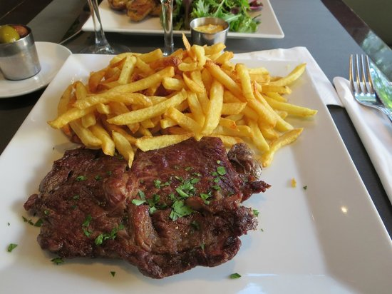 Le Bosquet: Ribeye Steak and Frites
